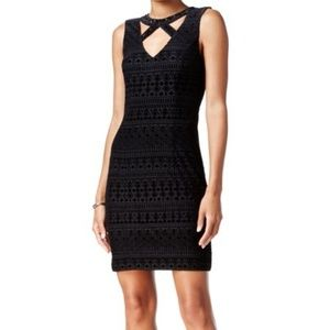 Guess - Cutout Sheath Black Dress